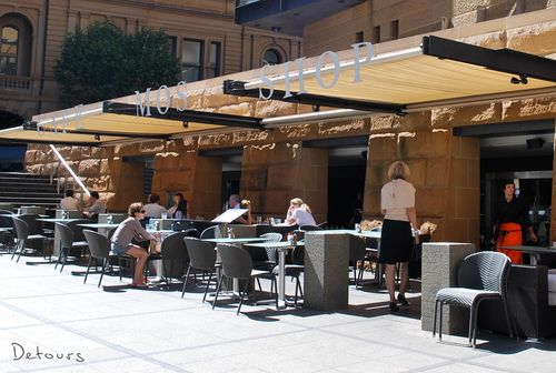 Sydney Architecture Walk - Museum of Sydney cafe