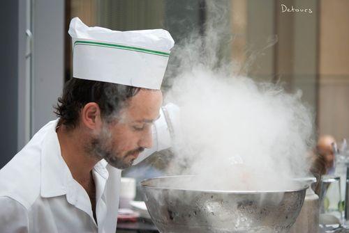 Sydney Zeta Bar - liquid nitrogen