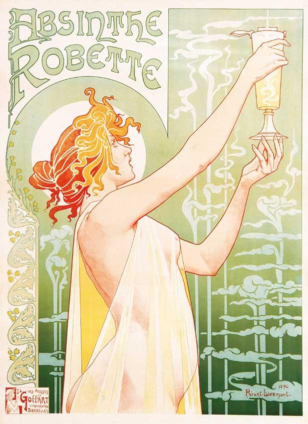 Belle-Epoque absinthe poster