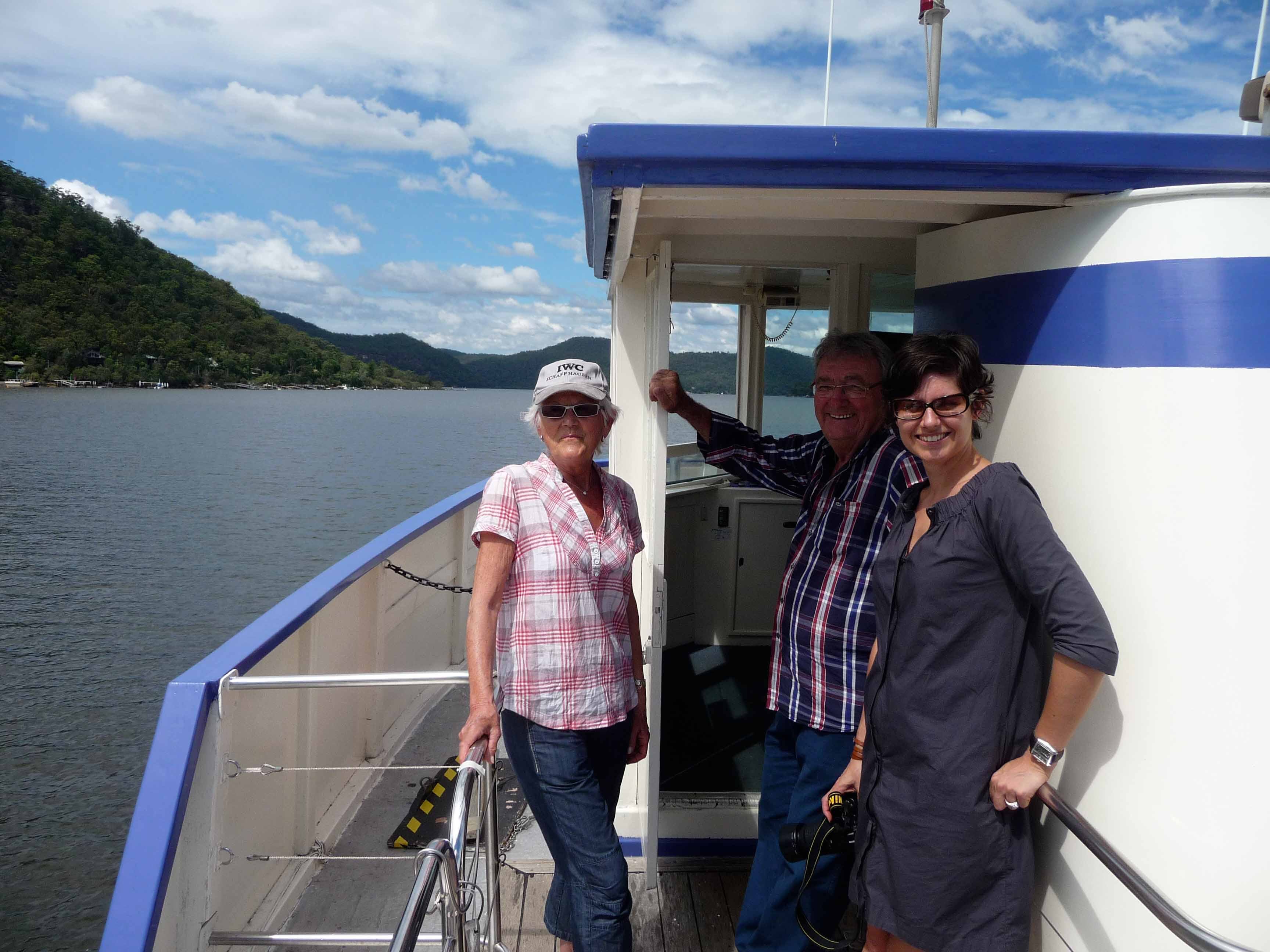Mytinerary private tour - Hawkesbury River riverboat postman
