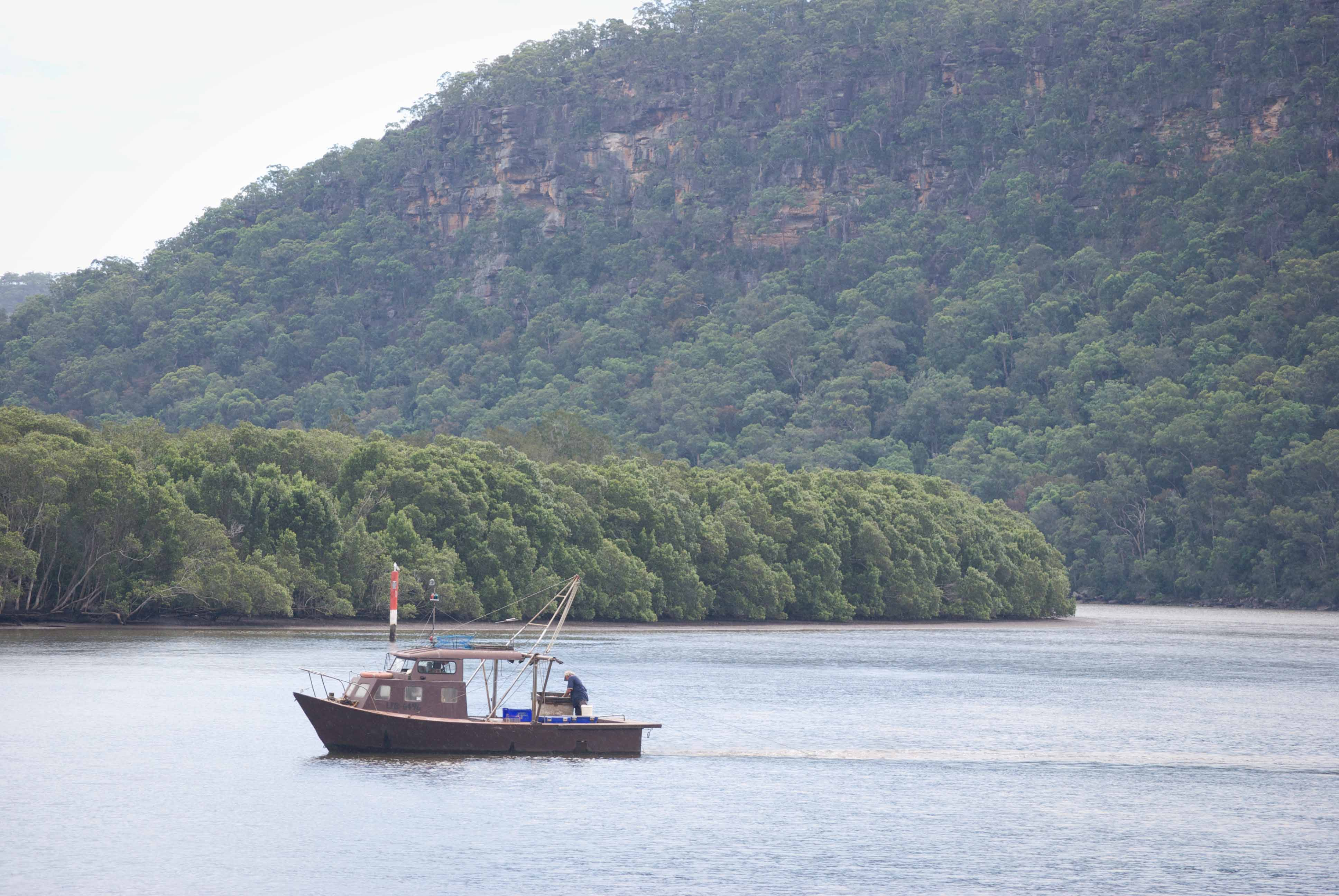 Mytinerary private tour - Hawkesbury River riverboat postman 3