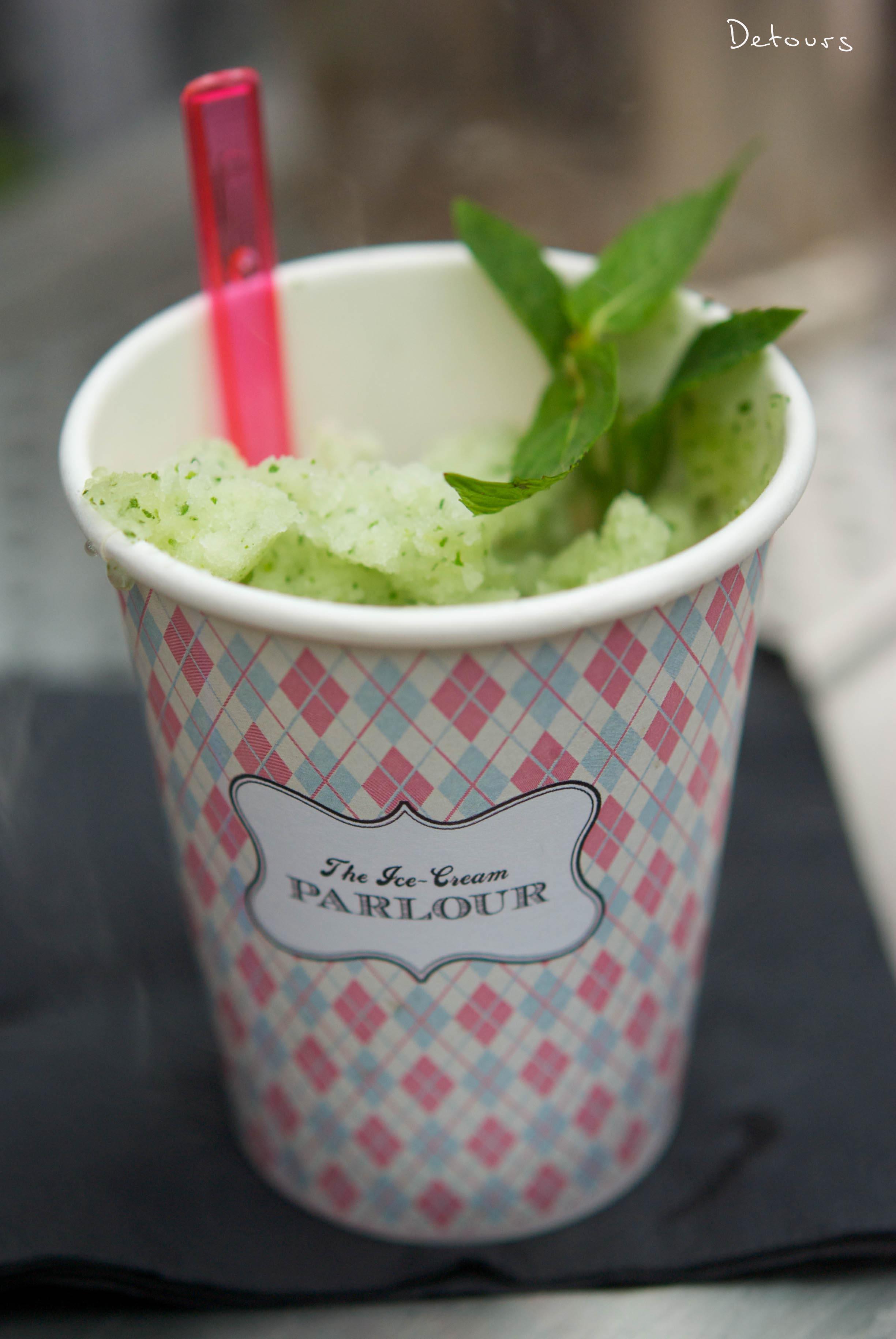 Sydney Zeta Bar - Mojito ice cream