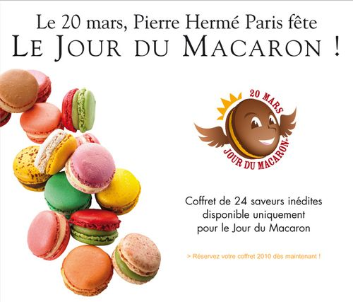 Pierre Herme Paris celebrates National Macaron Day