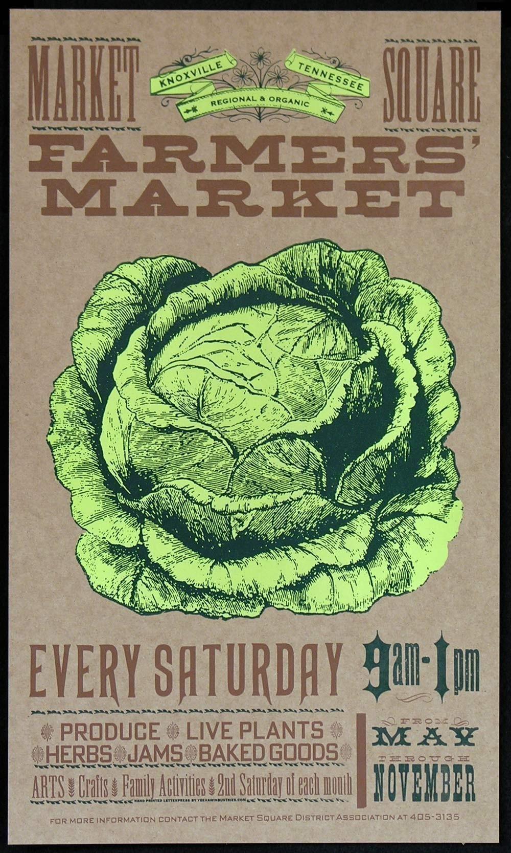 Yee Haw letterpress cards - heirloom veggies 3