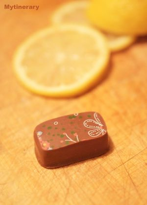 Lemon chocolate from Kakawa, chocolate tour, Sydney Australia (via Mytinerary blog Detours)