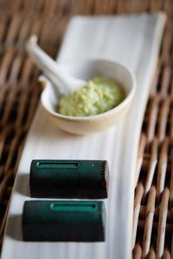 Belle Fleur wasabi chocolate. In Rozelle, Sydney, Australia (via Mytinerary blog Detours)