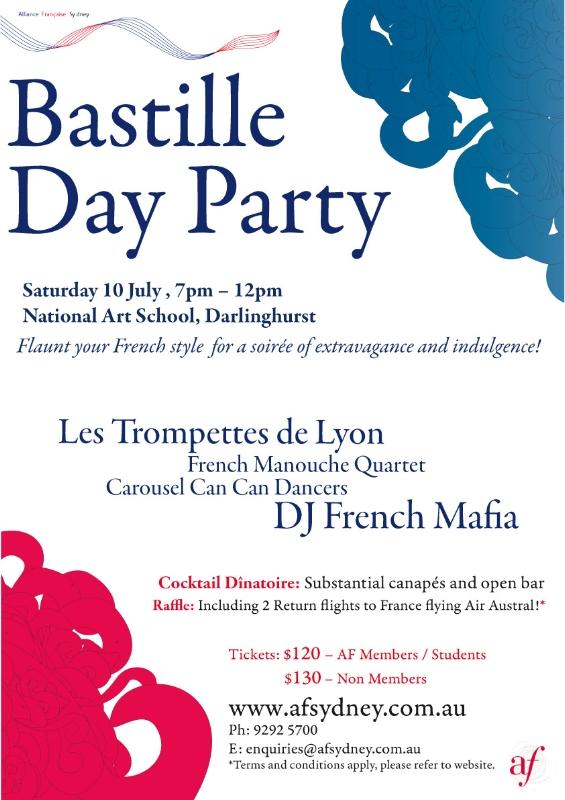 Alliance Francaise Bastille Day Party