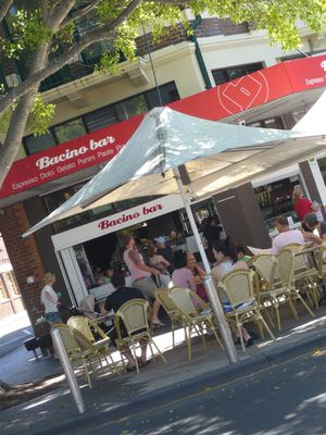 Bacino Bar on The Corso, Manly, Sydney, Australia (via Mytinerary blog Detours)