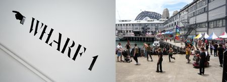 Open Day at the Wharf, Walsh Bay, Sydney