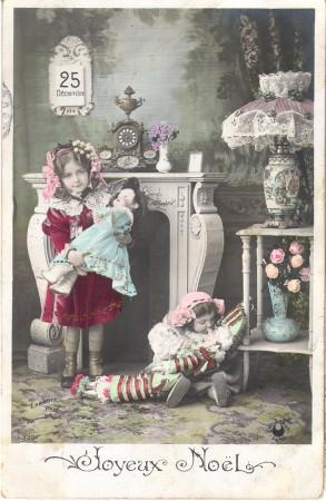 Joyeux Noel vintage card