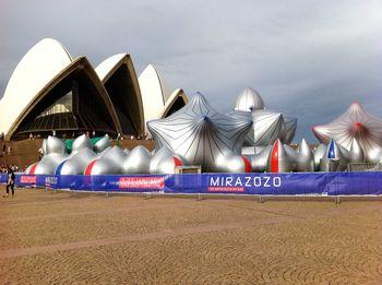 Mirazozo, Sydney Opera House forecourt