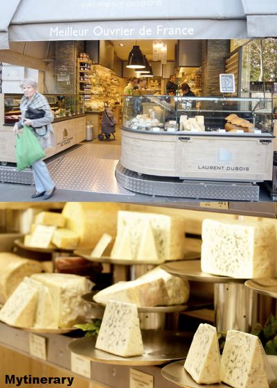 Laurent Dubois, the ultimate cheese shop in Paris, France