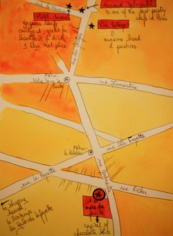 Www.detours.typepad.com - A la Mere de Famille 4, map, Paris, Paris map