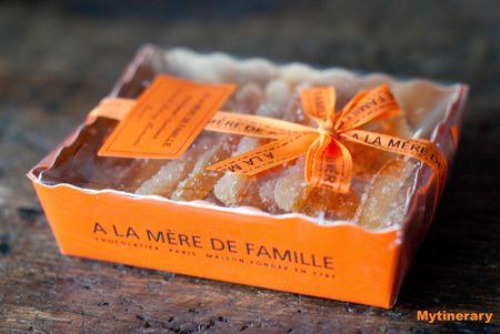 Www.detours.typepad.com - A la Mere de Famille, orangette, Paris